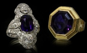 Amethyst. The essence of the colour purple.