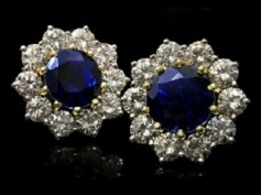 Coronet Cluster Earrings a Timeless Accessory