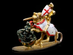 Saint George - the protector of the English
