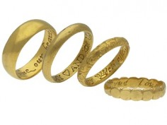 A True Friends Gift - The History of Posy Rings