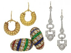 A brief history of earrings through the ages