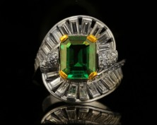 Emeralds - one of the most prized coloured gemstones on Earth