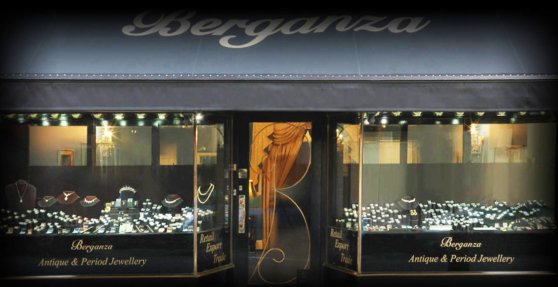 The Berganza shop in Hatton Garden, London