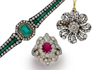 The unique beauty of antique jewellery.