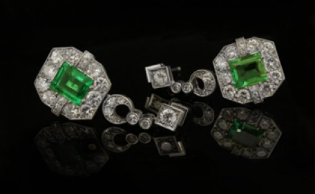 Art Deco earrings of the 1920's to 1930's - A History of Earrings: Part 7.