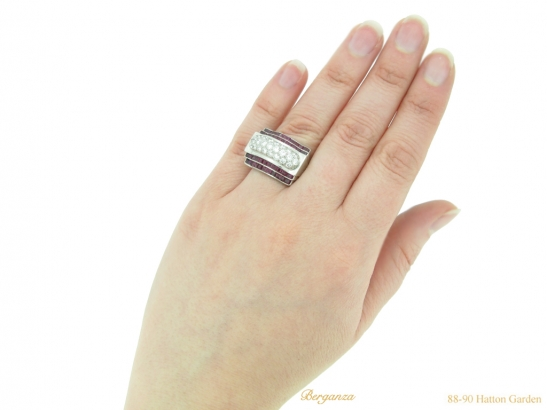 hand-view-tiffany-diamond-ruby-ring-hatton-garden-berganza