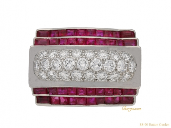 front-view-tiffany-diamond-ruby-ring-hatton-garden-berganza