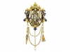 front-view-Froment-Meurice enamel chatelaine pendant set with pearls and lapis