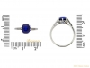 size-view-  Kashmir-Royal-blue-sapphire-and-diamond-ring,-circa-1910.-berganza-hatton-garden