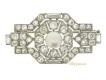 alt='front-view-Boucheron Paris pearl and diamond brooch,'