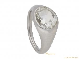front-view-vintage-diamond-engagement-ring-hatton-garden-berganza