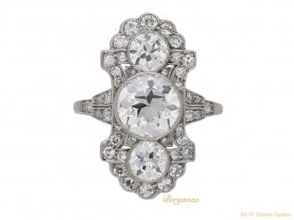 front-antique-diamond-ornate-ring-berganza-hatton-garden