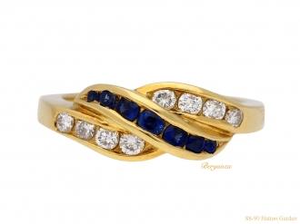 front-view-vintage-tiffany-sapphire-diamond-hatton-garden-berganza