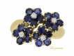alt='Van Cleef & Arpels vintage flower ring, French, circa 1945.         '