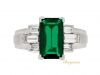 front-view-Gubelin Colombian emerald and diamond ring, circa 1943.