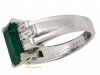 mark-view-Gubelin Colombian emerald and diamond ring, circa 1943.