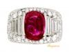 front-view-Bulgari Burmese ruby and diamond 'Trombino' ring