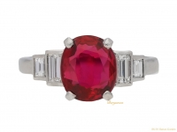 front-view-Art-Deco-ruby-and-diamond-ring-circa-1935-berganza-hatton-garden