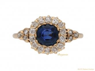 front-veiw-antique-spinnel-diamond-ring-berganza-hatton-garden