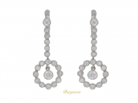 front-view-vintage-diamond-drop-earrings-berganza-hatton-garden
