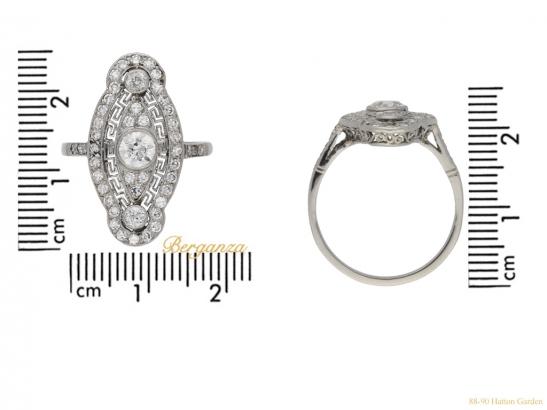 size-view-Belle-Epoque-diamond-cluster-ring,-circa-1905.-hatton-garden-berganza
