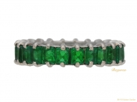 front-view-Emerald-eternity-ring,-French,-circa-1975.-berganza-hatton-garden