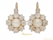 alt='front-view-Antique-natural-pearl-and-diamond-earrings,-circa-1890-berganza-hatton-garden'