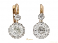 front view Antique-diamond-earrings-circa -1905-berganza-hattongarden