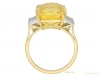 back-view-Yellow-sapphire-and-diamond-ring,-circa-1950.-hatton-garden-berganza