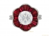front-view-Diamond-and-ruby-cluster-ring-by-Oscar-Heyman-Brothers,-circa-1970.-berganza-hatton-garden