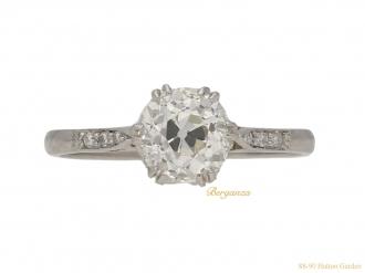 front-view-antique-diamond-ring-berganza-hatton-garden