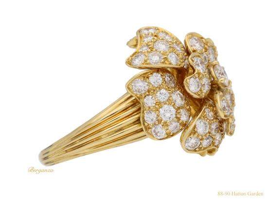 side-view-Van-Cleef-Arpels-diamond-ring-hatton-garden-berganza