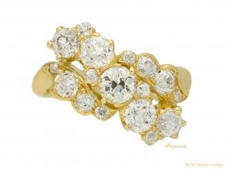 front-view-Antique-diamond-ring-hatton-garden-berganza