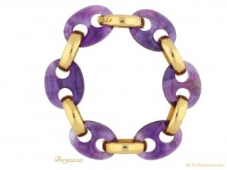 front-view-amethyst-gold-bracelet-berganza-hatton-garden