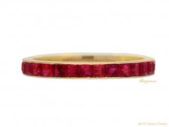 front-view-vintage-ruby-eternity-ring-berganza-hatton-garden