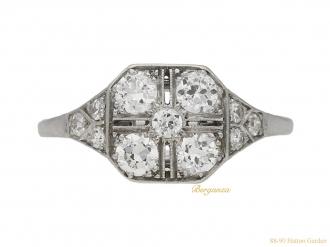 front-view-antique-diamond-art-deco-engagement-berganza-hatton-garden