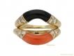 alt='front-view-vintage-Cartier-coral-onyx-stack-rings-berganza-hatton-garden'