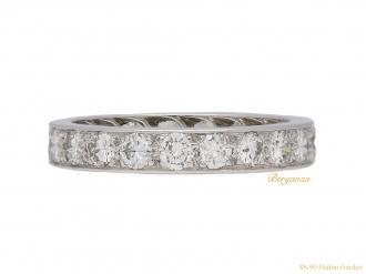 front-view-antique-diamond-eternity-ring-berganza-hatton-garden