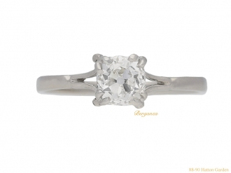 front-view-antique-diamond-engagement-ring-berganza-hatton-garden