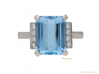 front-view-vintage-aquamarine-diamond-ring-berganza-hatton-garden