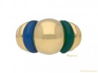 front-view-vintage-dress-ring-Boucheron-ring-berganza-hatton-garden