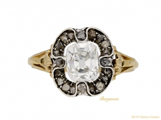 front-view-antique-diamond-engagement-ring-hatton-garden-berganza