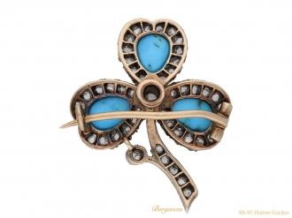front-view-antique-diamond-turquoise-brooch-berganza-hatton-garden