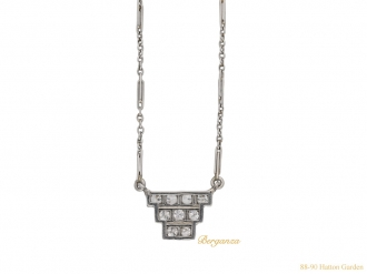 front-view-art-deco-diamond-pendant-hatton-garden-berganza