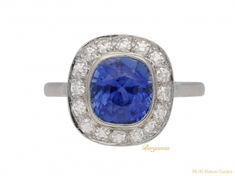 front-view-vintage-sapphire-diamond-ring-berganza-hatton-garden