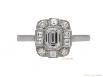 front-view-art-deco-diamond-ring-berganza-hatton-garden