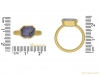 size-view-Post-Medieval-gold-Sapphire-ring-berganza-hatton-garden