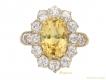 alt='front-view-antique-yellow-sapphire-diamond-ring-berganza-hatton-garden'