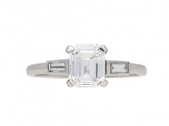 front-antique-diamond-pearl-ring-berganza-hatton-garden