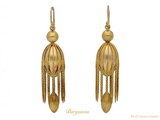 front-view-Victorian-drop-earrings-berganza-hatton-garden
